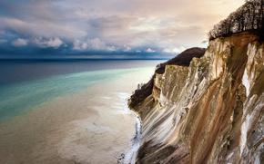 Картинка Denmark, Sjaelland, Busene, The cliffs at Mons Klint