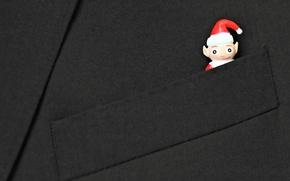 Картинка праздник, игрушка, снеговик