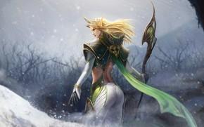 Обои fantasy, Elf Queen, эльф, арт, TaeKwon Kim(A-rang)
