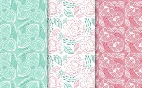 Обои цветы, фон, обои, colorful, flower, patterns