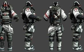 Картинка killzone, soldier, helghast