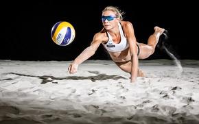 Картинка песок, спорт, мяч