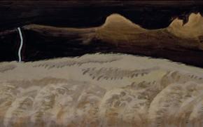 Картинка 1920, Charles Ephraim Burchfield, Gray and Black Landscape