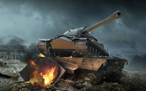 Картинка WoT, ИС-7, World of Tanks, Мир Танков, Wargaming Net, IS-7
