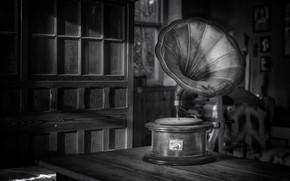 Картинка музыка, фон, граммофон