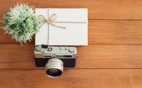 Картинка цветок, Фотоаппарат, Коробка