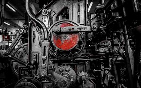 Картинка фон, двигатель, механизм