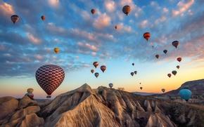 Обои Nevsehir, Avanos, Dreams of Cappadocia, Turkey