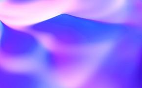 Картинка волны, краски, пустыня, объем
