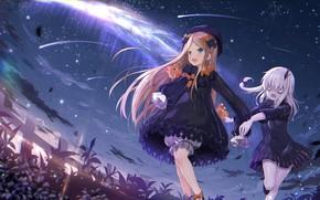 Обои небо, Fate / Grand Order, арт, девочки