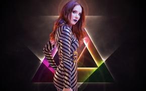 Картинка Redhead, Epica, Symphonic metal, Progressive metal, Simone Johanna Maria Simons, Classical music