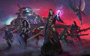 Картинка Вархаммер, Eldar, warhammer 40 000, w40k, Eternal Crusade, эльдар