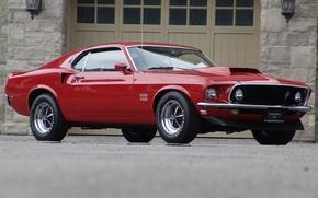 Картинка Ford, mustang, мустанг, 1969, форд, muscle car, boss 429