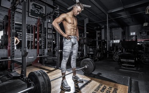 Картинка pose, gym, bodybuilder, Chad Molyneux