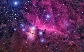 Обои Cosmos, colors, stars