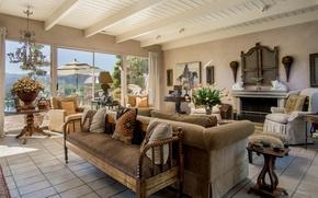 Картинка дизайн, стиль, диван, гостиная