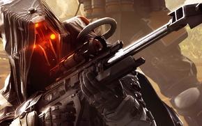 Картинка killzone, sniper, helghast