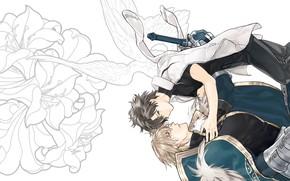 Картинка аниме, арт, парни, Fate Grand Order