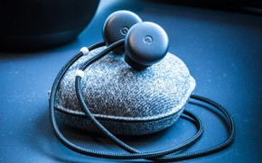 Обои cables, sachet, headphones