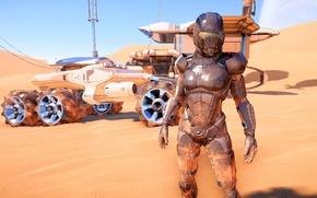 Картинка планета, кочевник, Mass Effect Andromeda, Первопроходец
