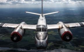 Обои ближний бомбардировщик, A-26B, Douglas, штурмовик, американский