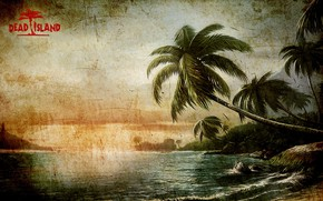 Картинка zombie, Linux, game, beach, sea, Microsoft Windows, island, Xbox 360, Dead Island, PlayStation 3, Deep …