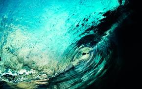 Обои природа, волна, море, океан