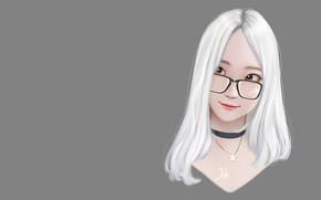 Картинка девушка, портрет, аниме, арт, Mio, Regiana (Jubi)