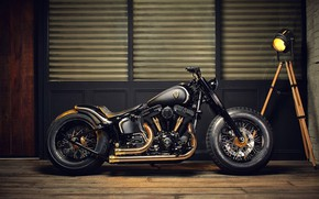 Обои Chopper, bike, custom, motorbike