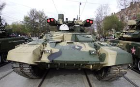 Картинка броня, Терминатор 2, Парад Победы, БМПТ-72, Оружие России, боевая машина поддержки танков, огневая мощь