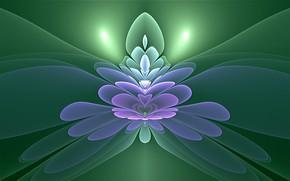 Картинка фон, узоры, свечение