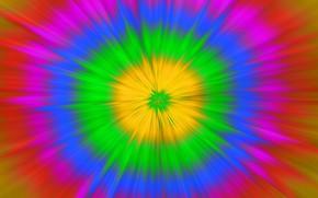 Обои цвет, радуга, ярко