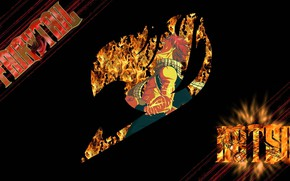 Картинка fire, flame, logo, game, anime, fairy, pretty, asian, manga, japanese, Fairy Tail, oriental, asiatic, strong, ...