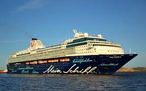 Картинка Море, Лайнер, Судно, Пассажирский, Пассажирский лайнер, Mein, TUI Cruises, Royal Caribbean Cruises, TUI, Schiff, Mein ...