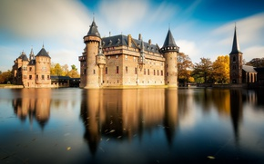 Картинка замок, Нидерланды, Голландия, Utrecht, De Haar Castle