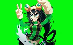 Картинка frog, anime, hero, manga, yuusha, super hero, japonese, Boku no Hero Academia, by gevdano, My …