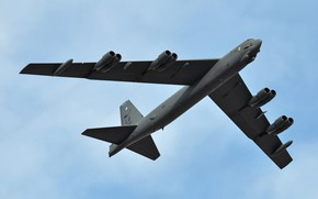 Картинка Boeing, стратегический бомбардировщик, Stratofortress, B-52H