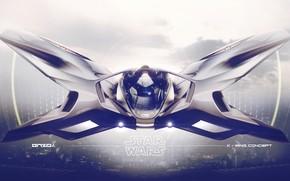 Картинка дизайн, транспорт, техника, аппарат, X-wing concept