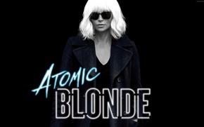 Обои cinema, Charlize Theron, Atomic Blonde, woman, blonde, girl, movie, film