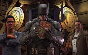 Картинка Игра, Усы, Очки, Бэтмен, Костюм, Пояс, Герой, Маска, Супергерой, Hero, Police, Batman, Коп, Game, Брюс …