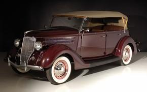 Картинка ретро, Ford, Deluxe Phaeton