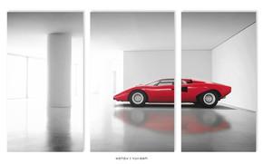 Картинка Lamborghini, Countach, Sport, Gran Turismo