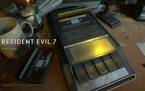 Картинка game, Resident Evil, screen, Capcom, fear, Biohazard, official wallpaper, terror, Resident Evil 7, Biohazard 7, ...
