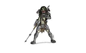 Картинка хищник, копье, predator, тварь шлем