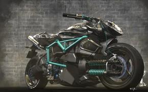 Картинка мотоцикл, Concept bike, unstoppable shaurya
