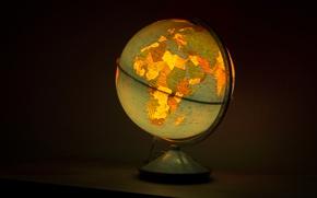 Картинка Шар, Светильник, Глобус, Globe