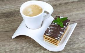 Картинка кофе, пирожное, десерт, сладкое