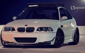 Картинка BMW, E46, Stance