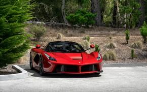 Обои Ferrari, Italia, RED, LaFerrari