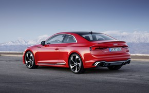 Обои German, Red, 2018, A5, Road, RS, Audi, RS5